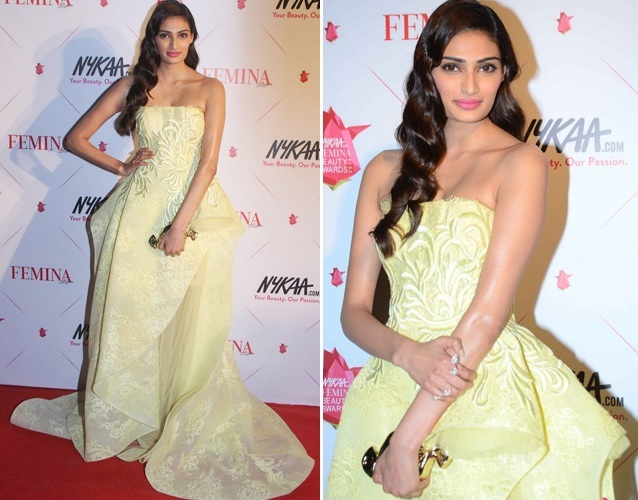 Athiya Shetty at Nykaa Femina Beauty Awards