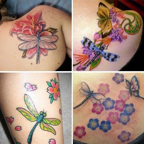Best Dragonfly Tattoos