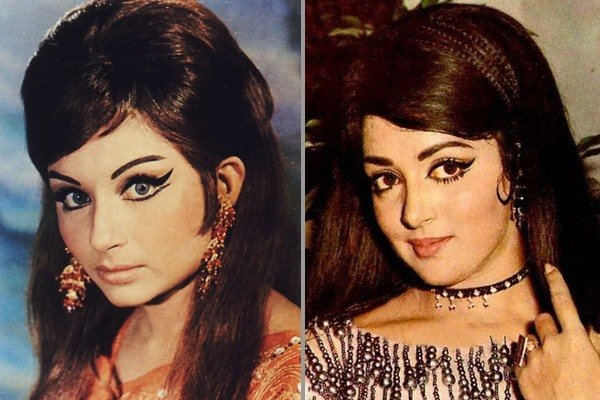 Bollywood celebs in retro look