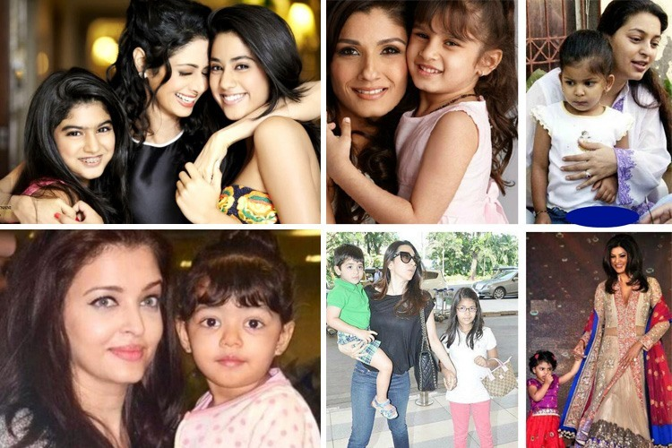 Bollywood moms with kids