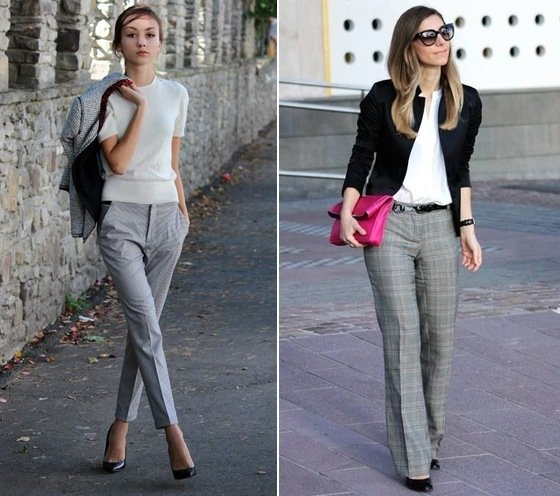 Amazing Lets See How To Match Grey Pants Outfit The Key Is The Colour Combination A Colour Pallet Needs To Be Assimilated To Understand What To Wear With Grey Pants Grey Is A Rather  Collection Of Business Casual For Women And Getting