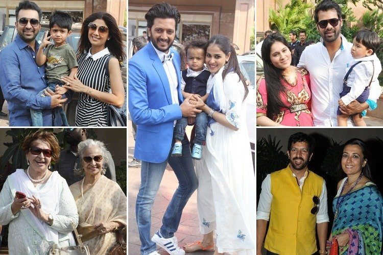 Celebs at Arpita baby shower