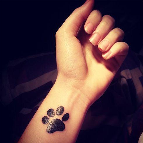 Paw Small Tattoo