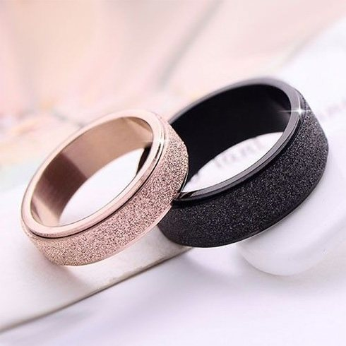 Cute Couple Heart Rings