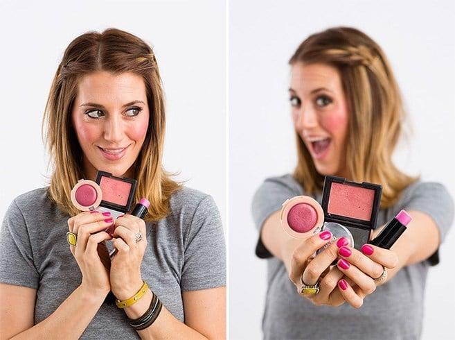 Different Ways To Apply Blush