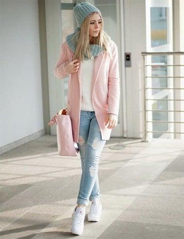 How To Wear Baby Pink Blazer
