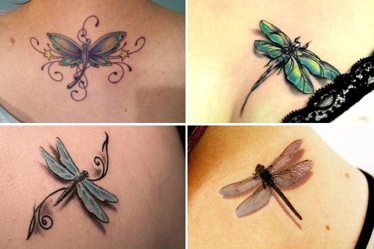 Simple Bird Tattoo
