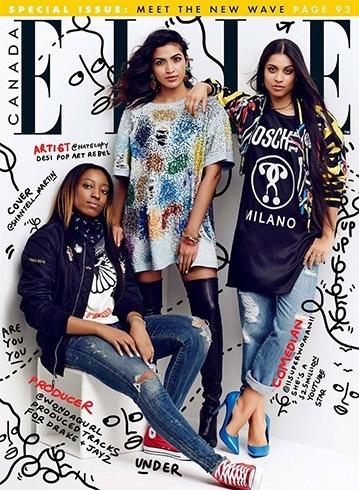 Elle February 2016 Magazine Covers
