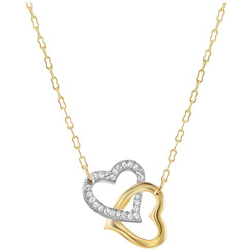 Heart Shaped Gold Pendant