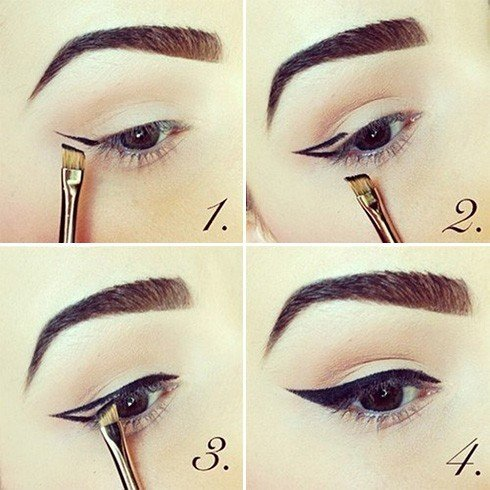 The art of open contour eye makeup a mini guide to the right eye hooded eye contour ccuart Gallery