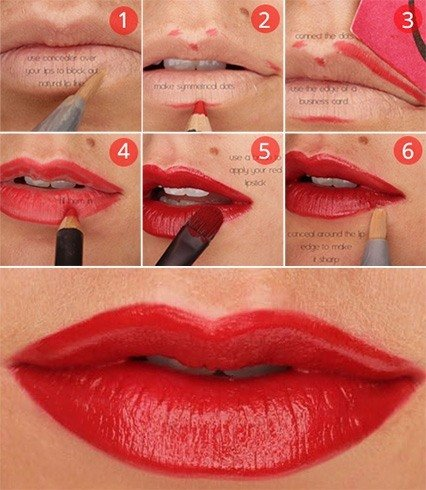 How to get bold lips