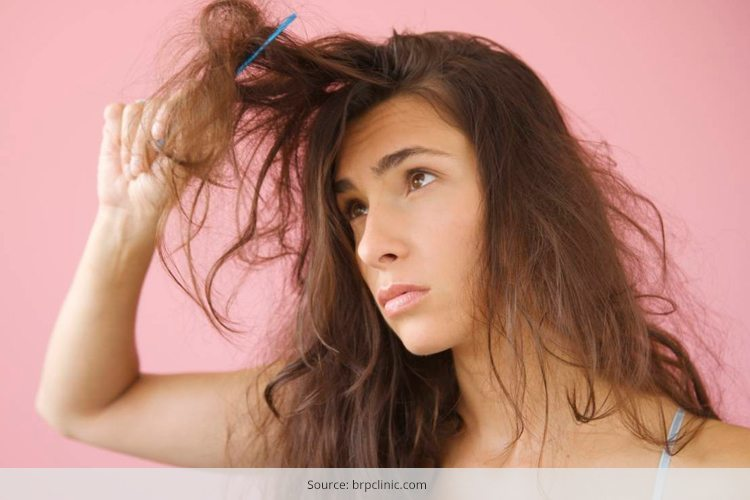 how to get rid of dry hair