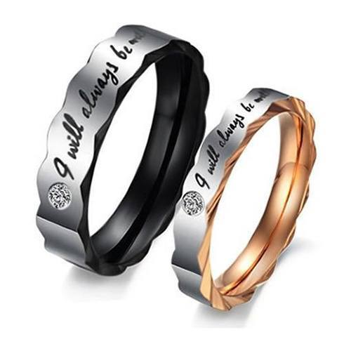 I Will Always Be With You Rings