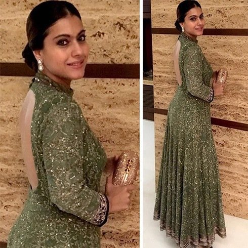 Kajol in Manish Malhotra