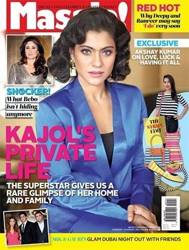Kajol Magazine Cover Photos