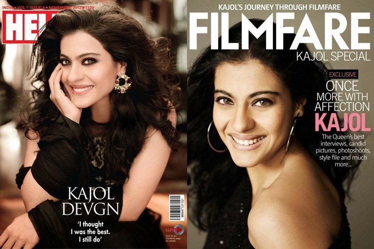 Kajol Magazine Cover