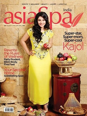 Kajol on Asia Spa magazine
