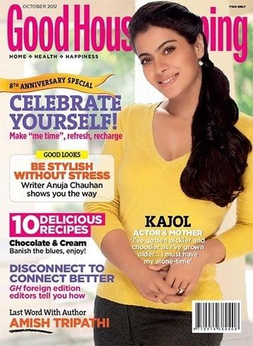 Kajol on Good Housekeeping magazine