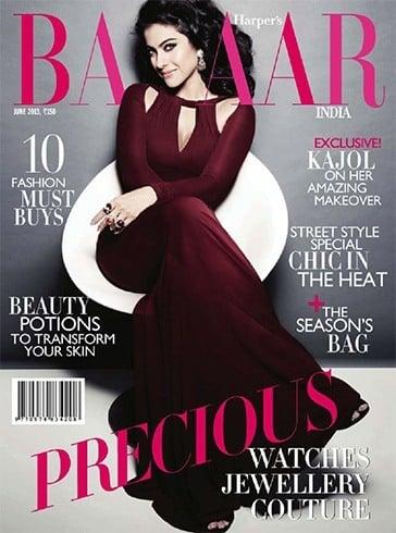 Kajol on Harpers Bazaar