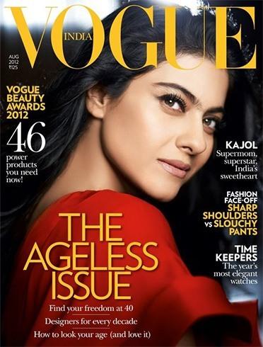 Kajol on Vogue