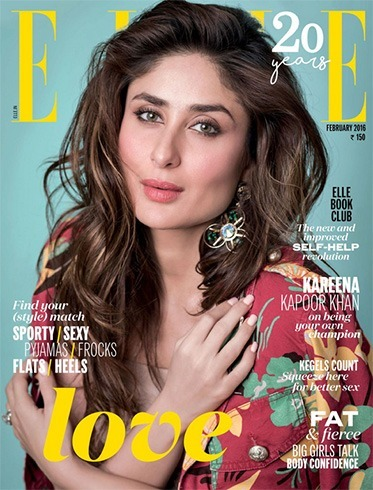 Kareena Kapoor Khan on Elle India