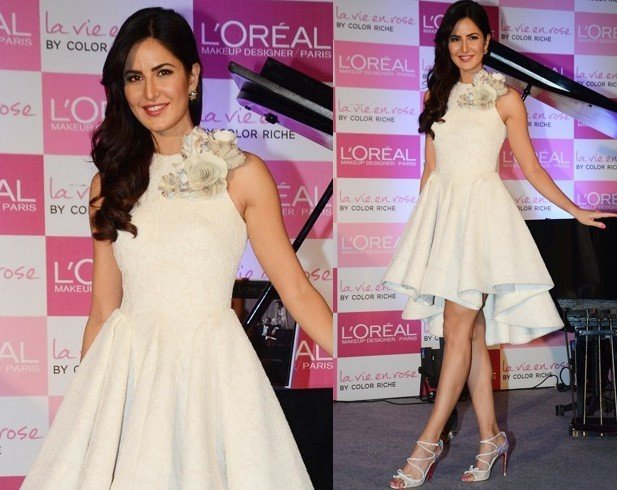 Katrina Kaif in Krikor Jabotian dress