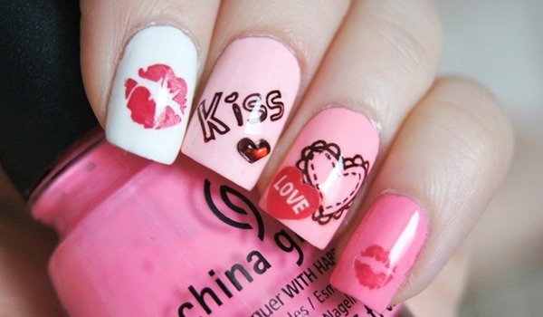 Fantabulous Kiss Nail Art Must For Valentines Day