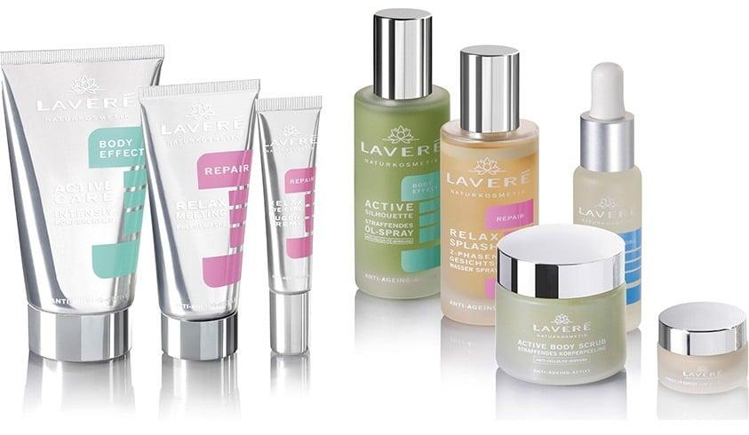 Lavera beauty products