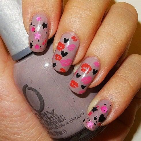 Lip nail art gallery nail art and nail design ideas 33 valentines day nail art designs season of love just got nailed lip nail art prinsesfo prinsesfo Choice Image