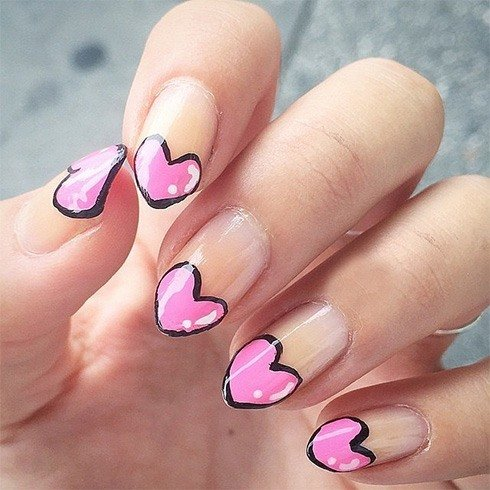 Love Nail Art Designs