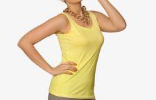 Miss Chase Women T-shirt Yellow
