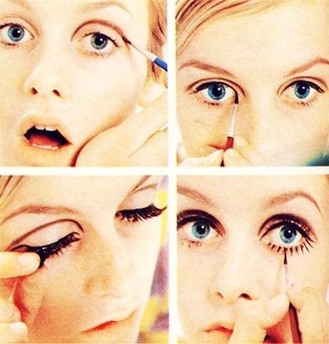 mod style makeup