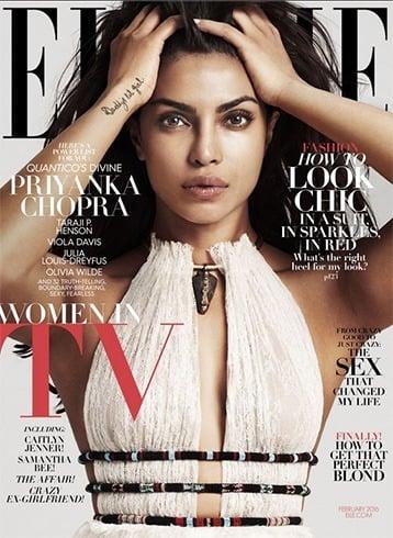 Priyanka Chopra on Elle US
