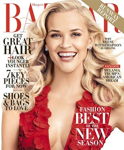Reese Witherspoon on Harper's Bazaar