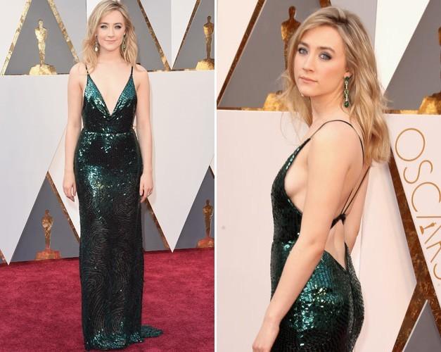 Saoirse Ronan at 2016 Oscars