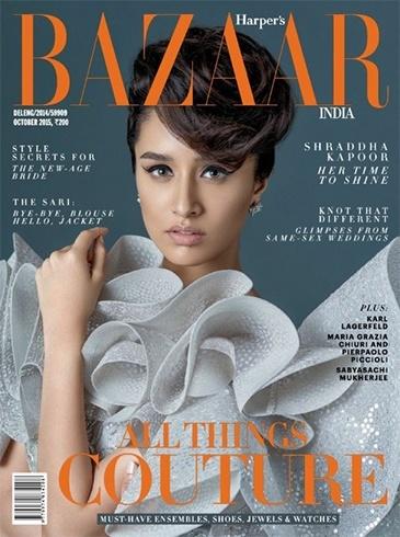 shraddha kapoor Bazar magazine