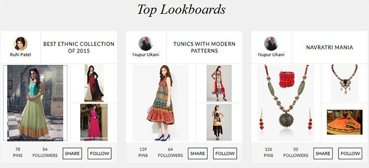 Top lookboards