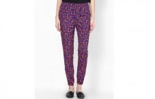 Triangular printed cdc pants