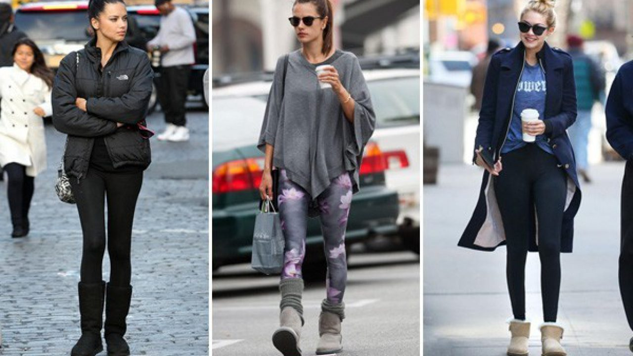 2feccec7659 Ugg Boots With Leggings! Celebrities Show Us How