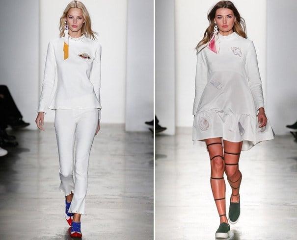 Ukrainian designer Anna K fall 2016 collection
