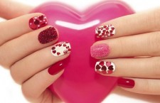 Valentines Day Nail Art Designs