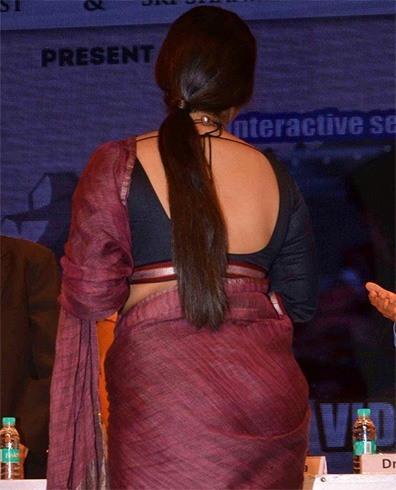 Vidya Balan hairstyle