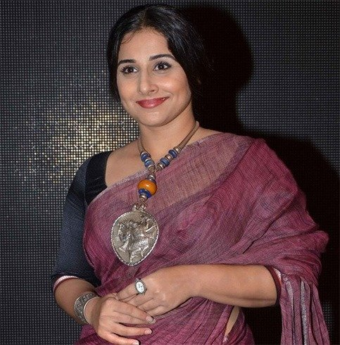 Vidya Balan tribal accessories