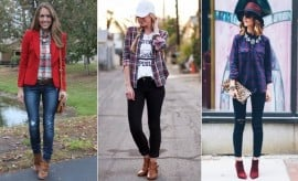 what to wear under a flannel