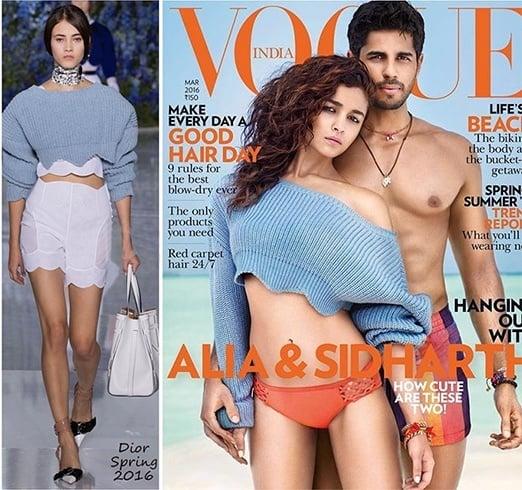 Alia Bhatt For Vogue India