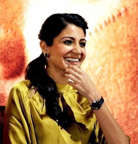 Anushka Sharma Ponytail Hairstyle