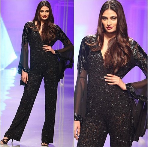 Athiya Shetty AIFW 2016 Day 4 Collections by Namrata Joshipura