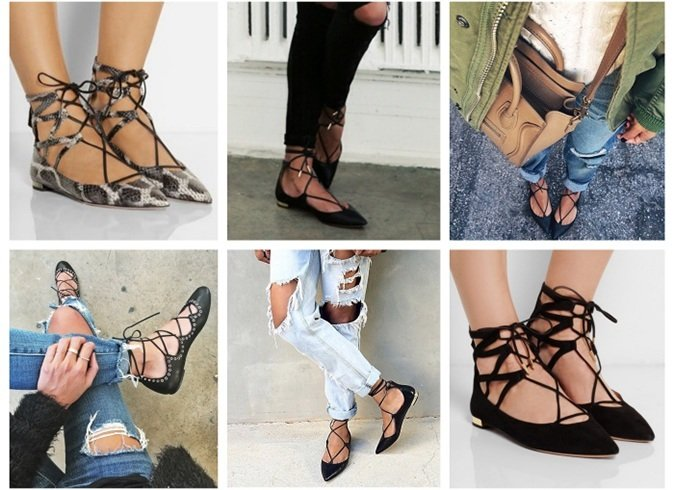 Best Ways To Wear Lace up Flats
