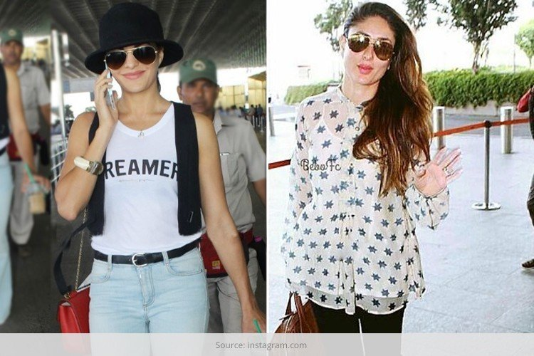 Bollywood Stars Airport Styles