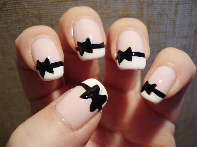 Bow Tie Party Nail Art - 13 Party Nail Art Ideas For The Party Hopping You